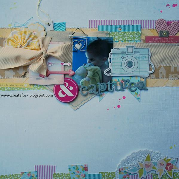 love and captured: The Paper Bakery October kits