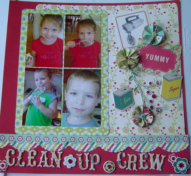 My Sweet Clean Up Crew page 2
