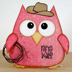 Happy Trails Owl