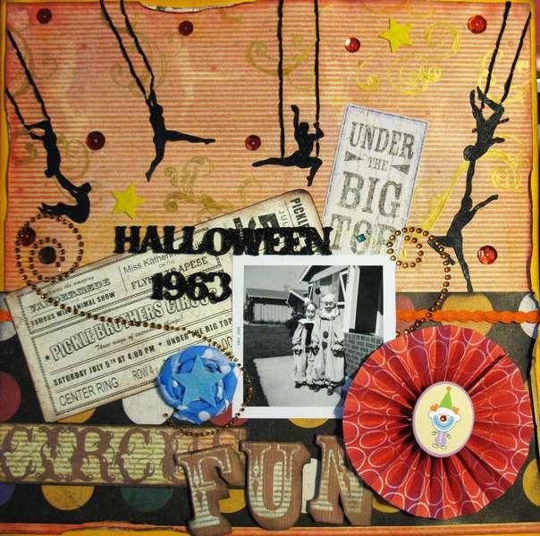 Halloween 1963: Circus Fun