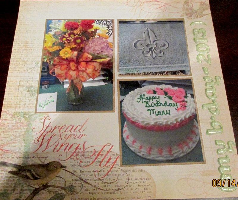 My birthday gifts