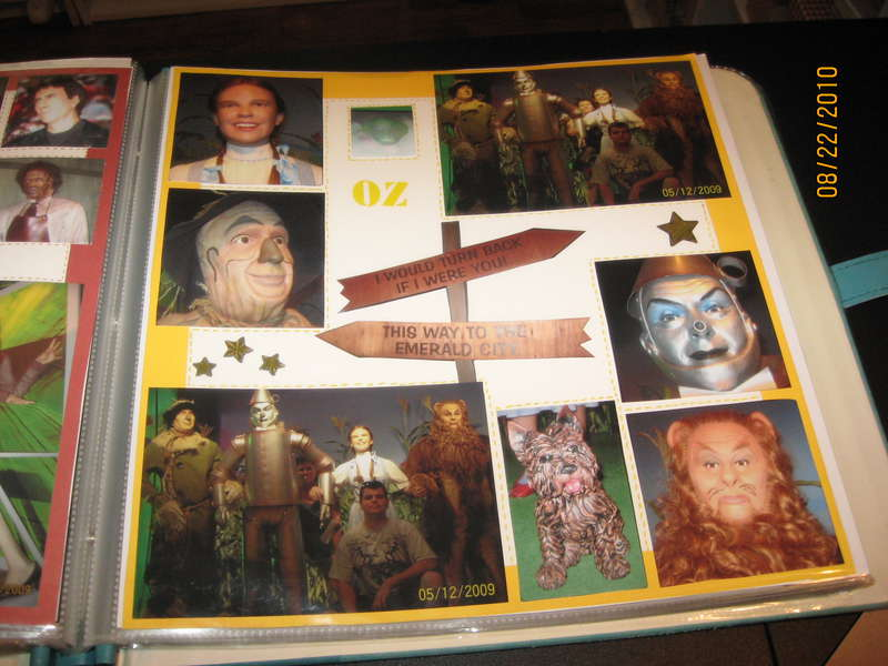 Follow the Yellow Brick Road in the Wax Museum