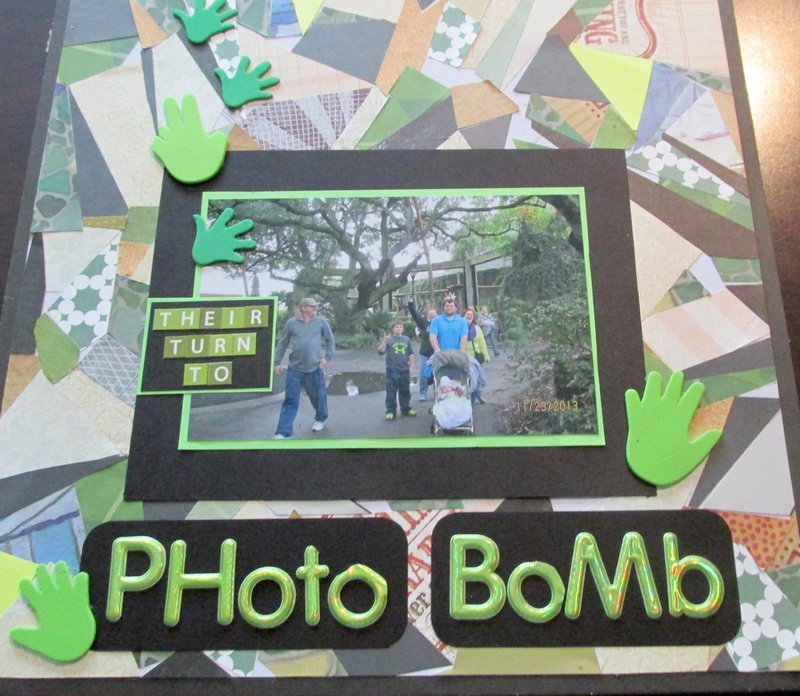 Their turn to Photo Bomb