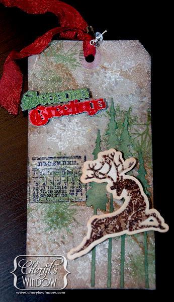 Reindeer Tag