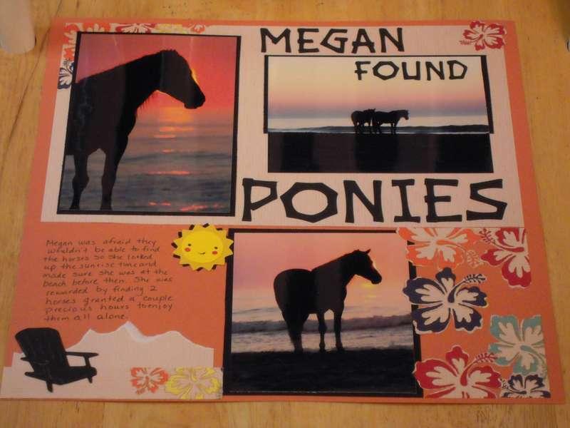 Megan Found Ponies