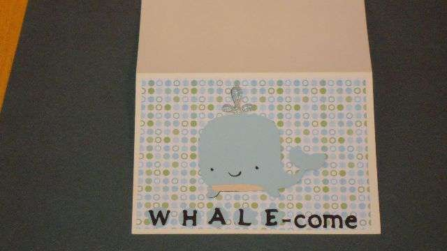 Whale-com - we'll try again