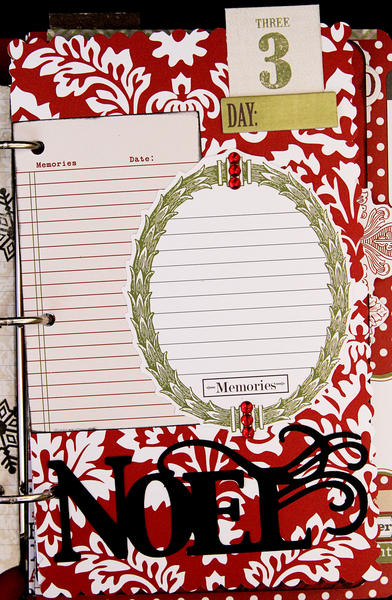 Teresa Collins Christmas Countdown book - page 3