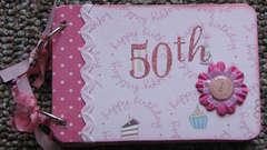 50th Birthday book