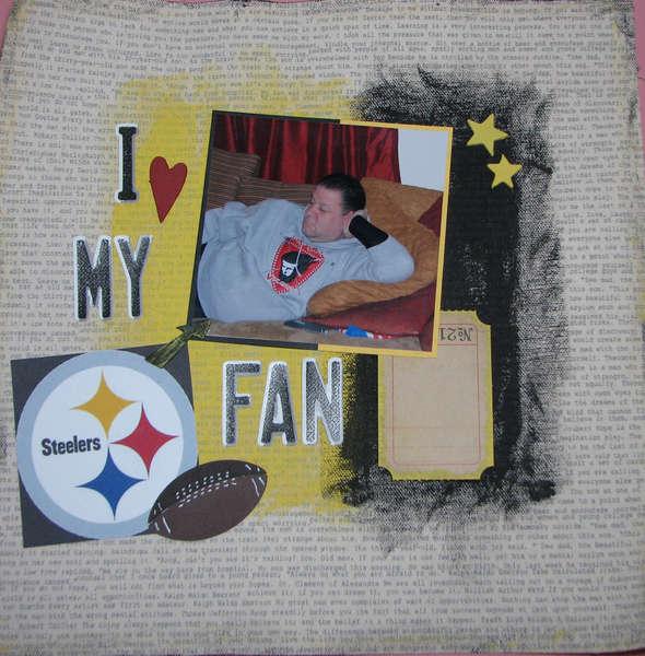 I heart my Steeler's fan