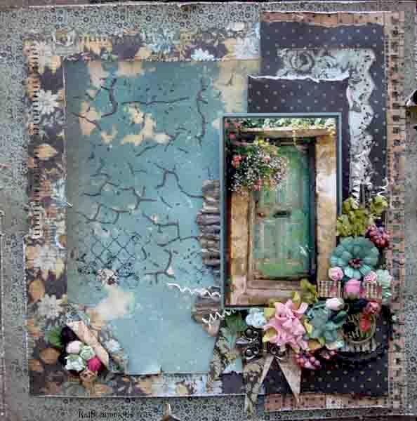 GREEN DOOR ~~~~SWIRLYDOOS