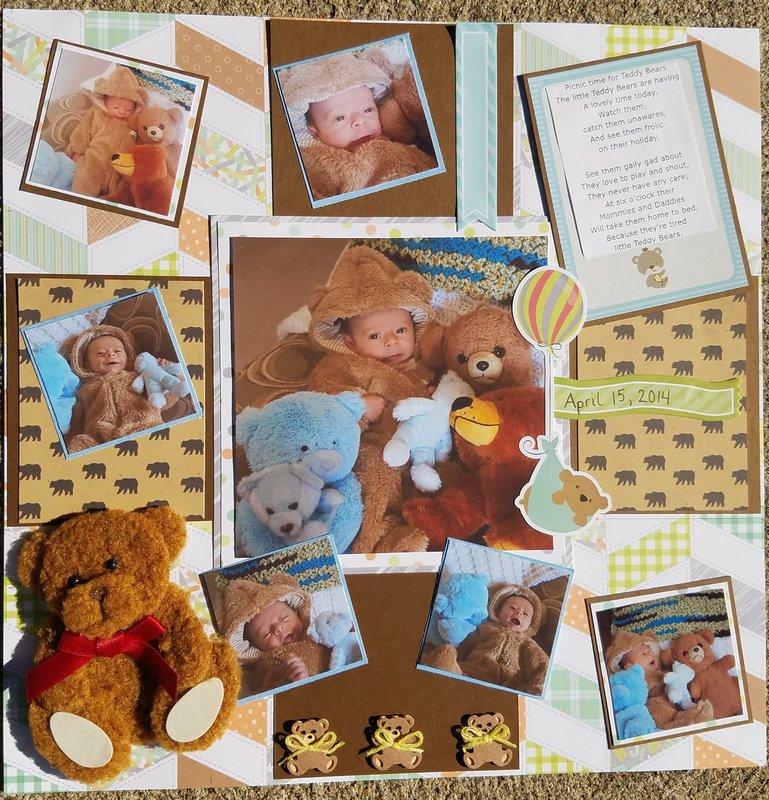 Logan's Teddy Bear Picnic
