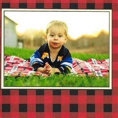 Handsome on Plaid
