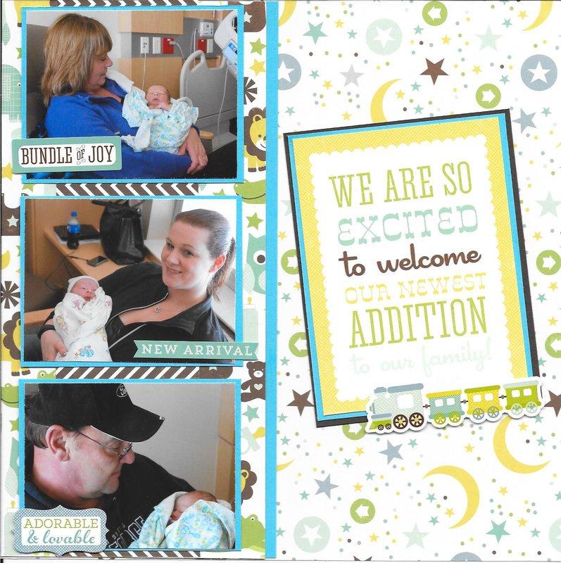 New Addition Logan: Gigi Book Pg 15