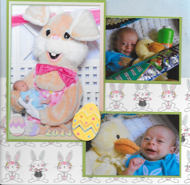 Logan's first Easter - Gigi