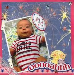 Logan's First 4th of July