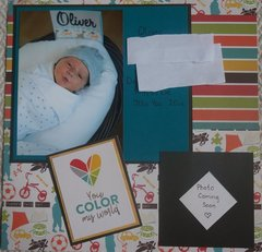 Great-Grandson #1 - Oliver