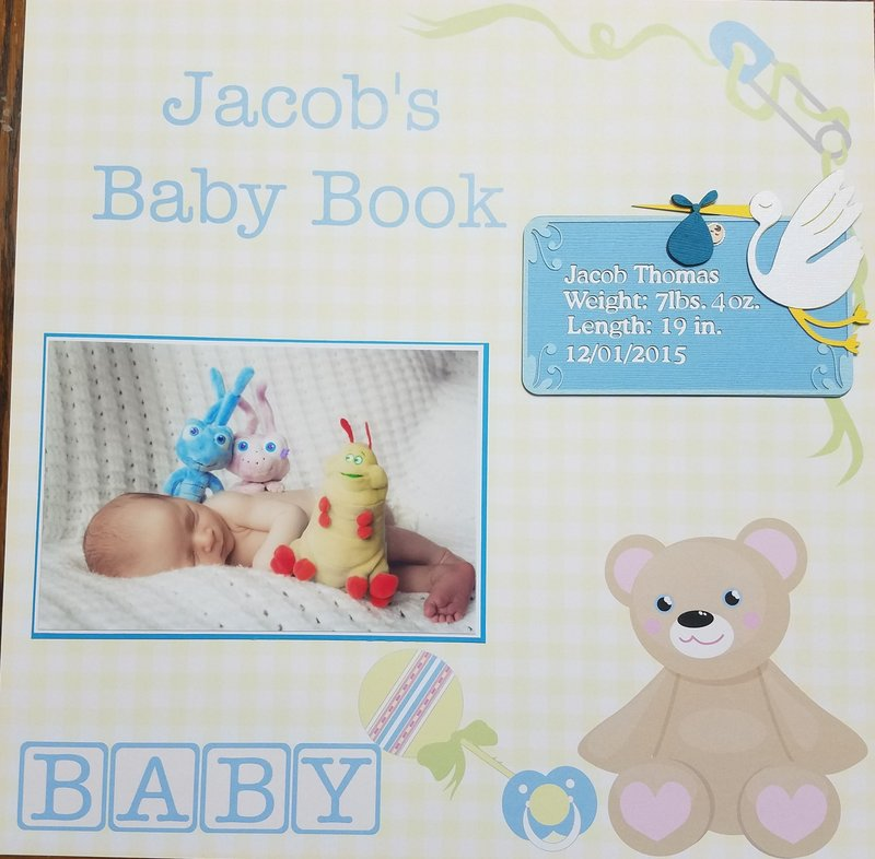 Jacob's Baby Book Page 1