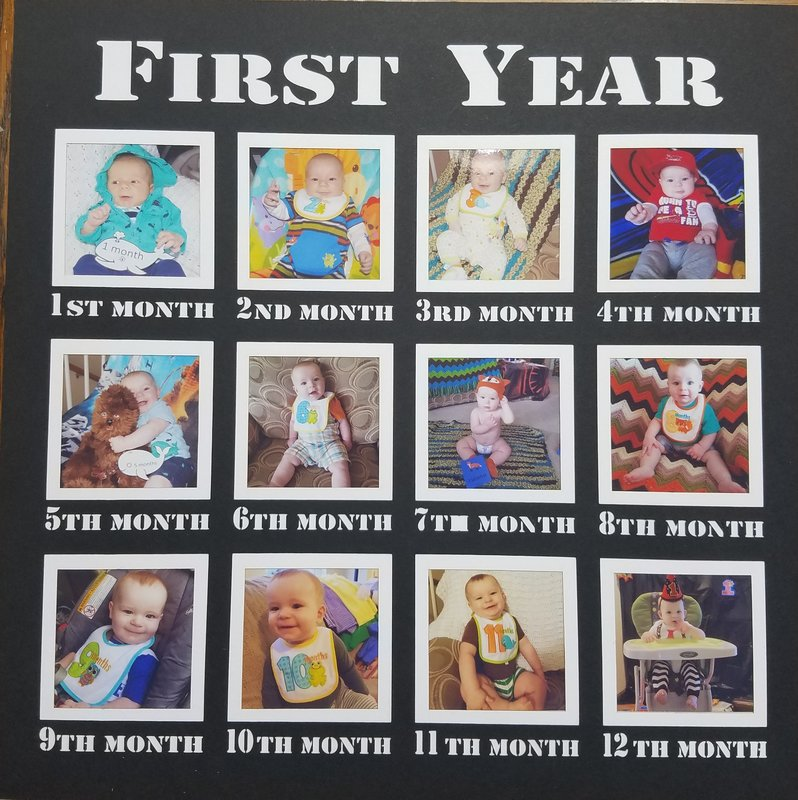 Jacob's First Year