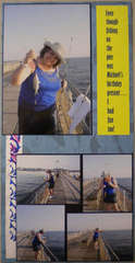 ME... Fishing on the Pier