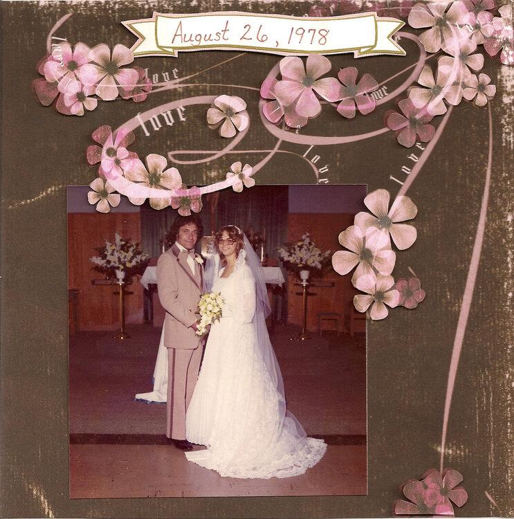 Mom and Dad Wedding photo