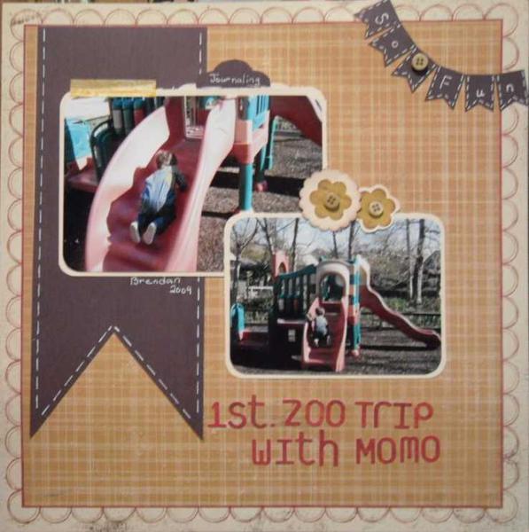 1st Zoo Trip w/ Momo