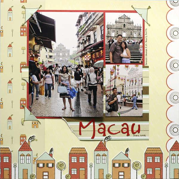 Macau *Nikki Sivils Scrapbooker*