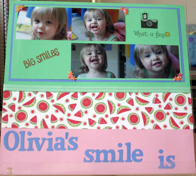 Olivia's smile