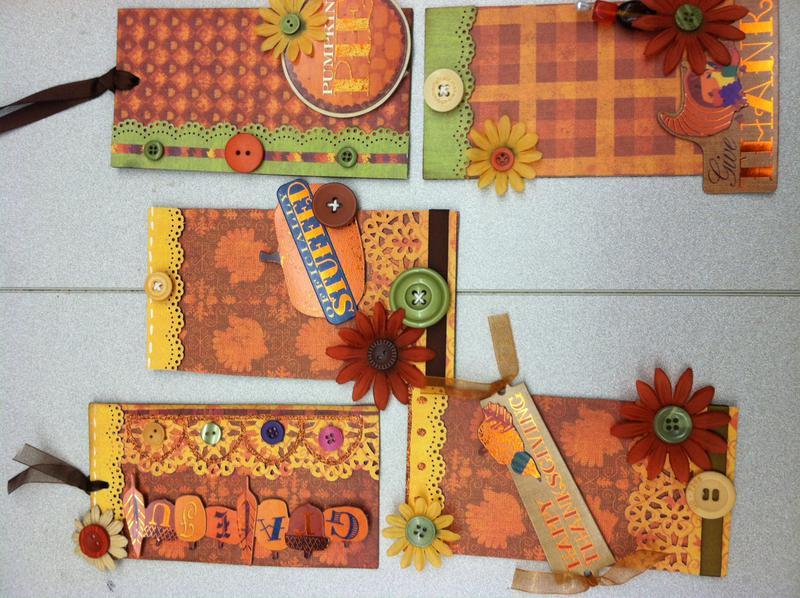 Autumn Harvest Tag Swap
