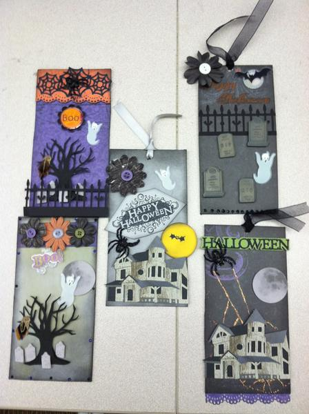 Haunted Halloween Tag Swap