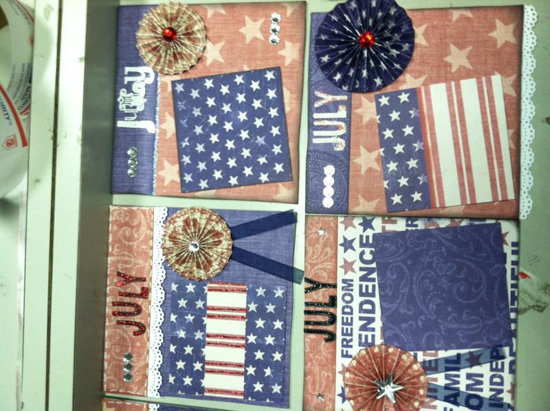 2012 6x6 Calendar Swap (July)