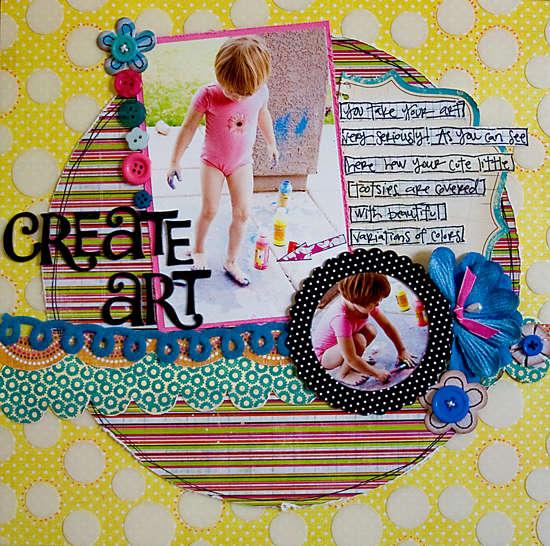 Create Art *Page Frames*