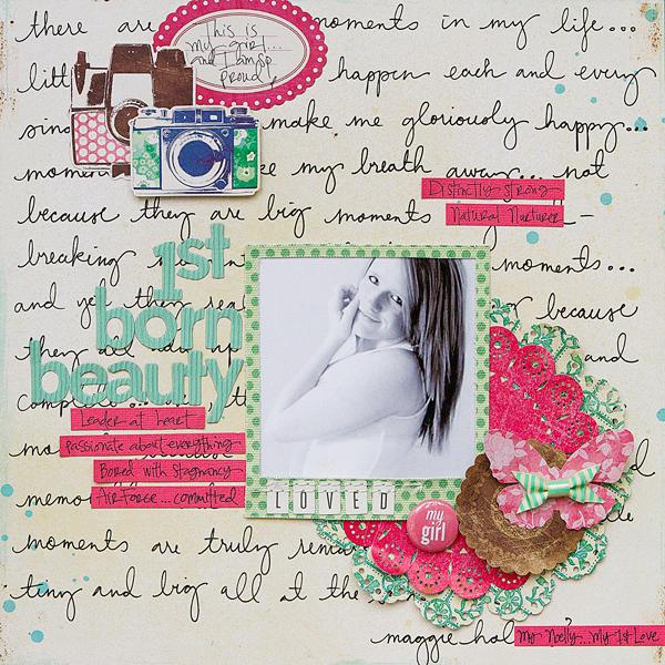 1st Born Beauty *Crate Paper*