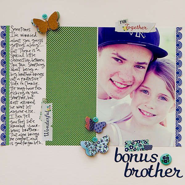 Bonus Brother *American Crafts*