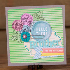 Brother Card *American Crafts*
