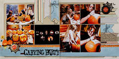 Pumpkin Carving Party *Noel Mignon Oct. Kit*