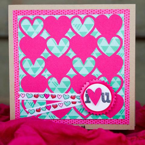 I Love you Card *American Crafts*