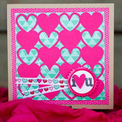 I Love you Card *American Crafts*