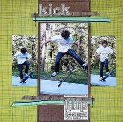 Kick Flip *Label Tulip June kit*