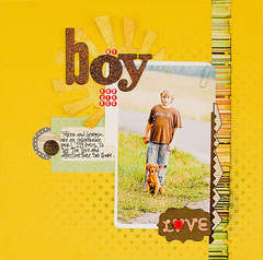 My Boy *Label Tulip August Kit*