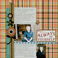 Always be Yourself *Scarlet Lime August kit*