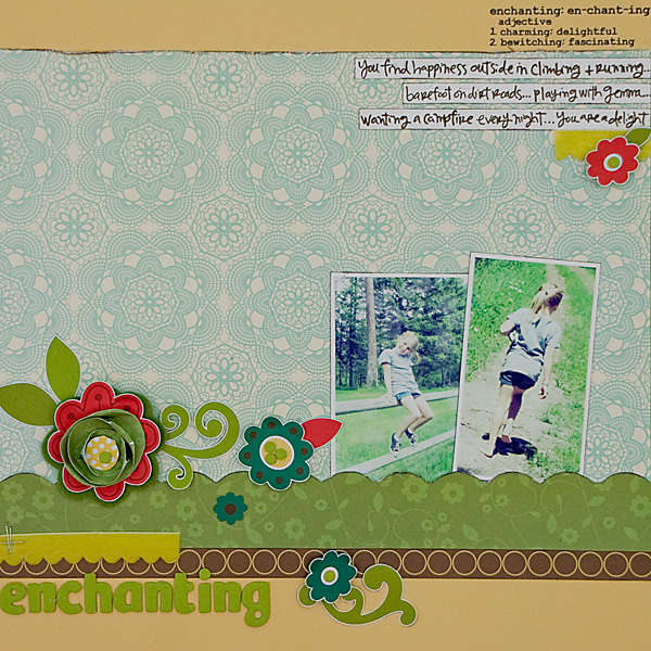 Enchanting *July Scarlet Lime kit*