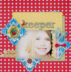 Keeper *Scarlet Lime April kit*