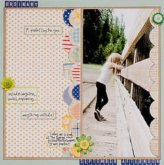 Ordinary September Afternoon *October Studio Calico kit*