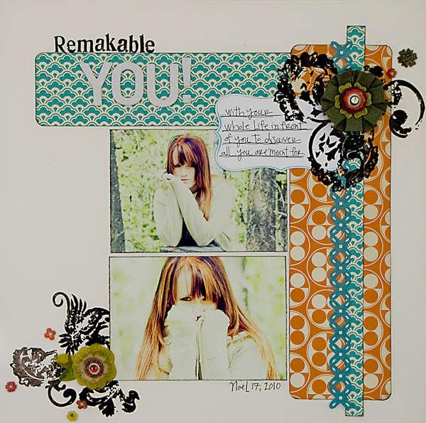 Remarkable You *July Scarlet Lime Kit*