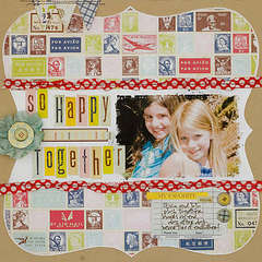 So Happy Together *The Girls Loft July Kit*