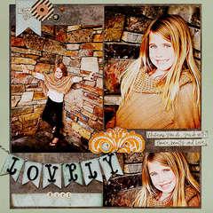 Lovely Girl *Oct. GD for Noel Mignon kit club*