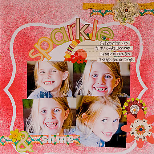 Sparkle *Inspired Blueprints #33 and Sassafras*
