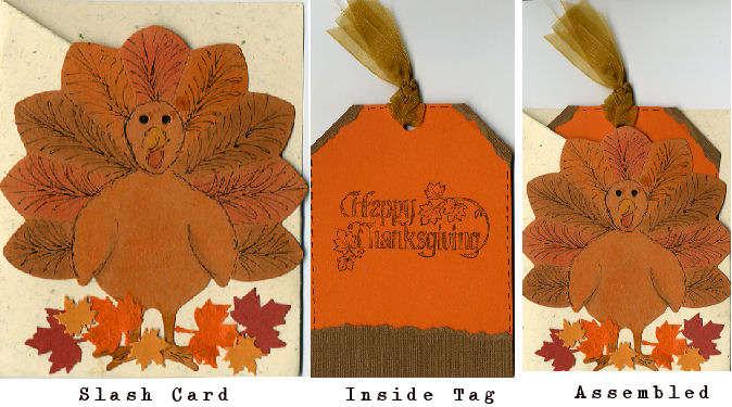 Happy Thanksgiving Pocket Card
