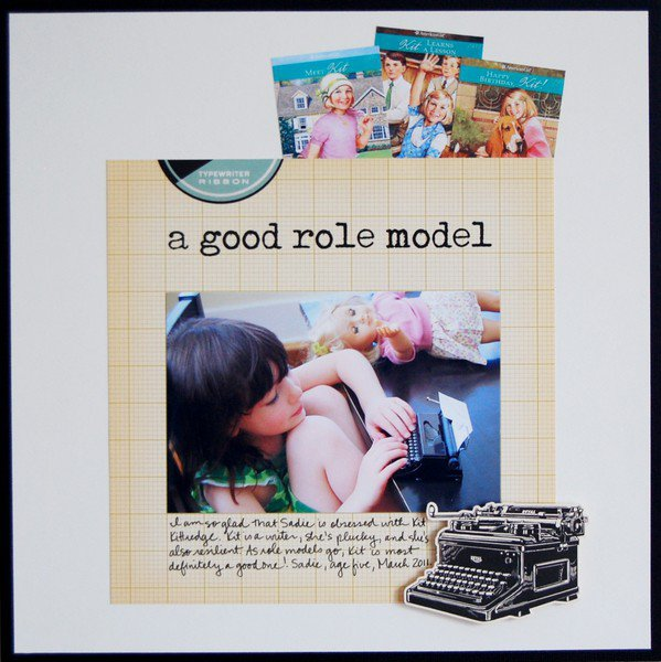 A Good Role Model **October Afternoon**