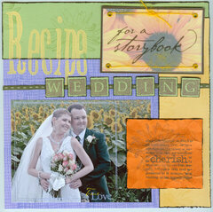 Recipe for a Storybook Wedding